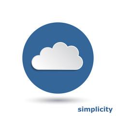 simple cloud 3d effect