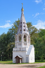 Belfry of Presentation of the Virgin Mary Church in Bezhetsk