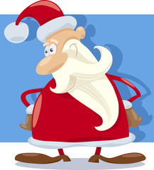 santa claus character cartoon