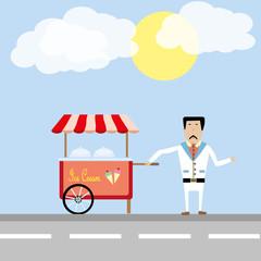ice-cream man