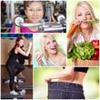 Sport - Abnehmen - gesund leben