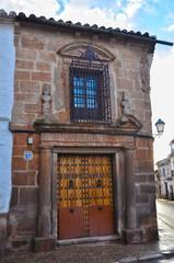 Villanueva de los Infantes, portada de una casa señorial