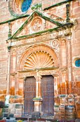 Villanueva de los Infantes, iglesia de san Andrés, portada