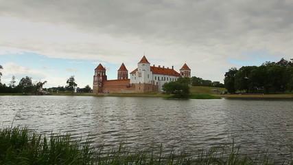 Castle near lake