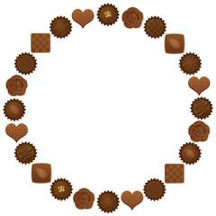 バレンタイン チョコレートの円