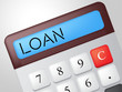 Loan Calculator Means Fund Loans And Lending