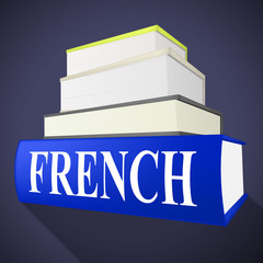 French Book Indicates Translate To English And Euro