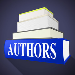 Authors Books Shows Writer Fiction And Fables