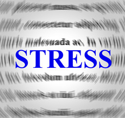 Stress Definition Indicates Explanation Pressures And Tension