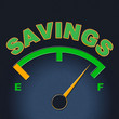 Savings Gauge Indicates Invest Monetary And Cash