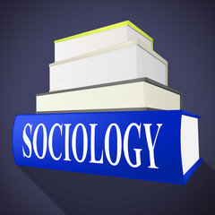 Sociology Books Shows Non-Fiction Knowledge And Assistance