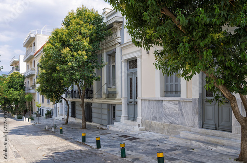 Neighborhood in Athens, Greece