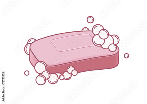 Soap with foam - 72755456