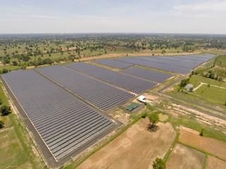 Aerial solarfarm