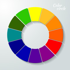 Colorful Wheel concept