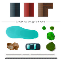 Landscape design elements