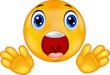 Smiley emoticon surprised