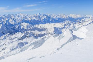 Gletscherwelt der Monte Rosa