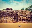 Descent of the Ganges and Arjuna's Penance, Mahabalipuram