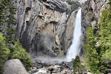 Lower Yosemite Falls, California