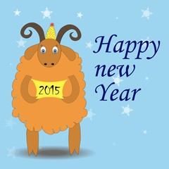 symbol of the year - the sheep