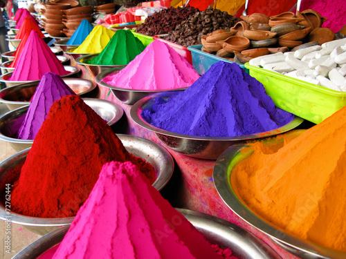 Fotobehang India Colors