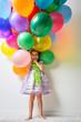 canvas print picture - air balloon
