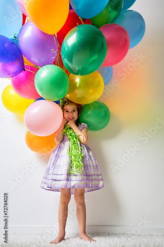 canvas print picture air balloon