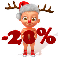 Baby Jake christmas sale 20 percent discount