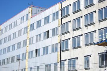 isolation d'immeuble