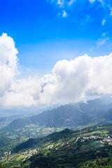 Mountains view, Thabberk Hill at Phetchabun, Thailand