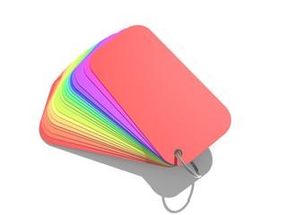 Kleurenwaaier regenboog kleuren