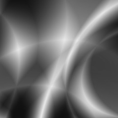 Gray planet abstract technology background