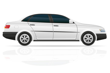 car sedan vector illustration