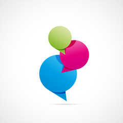 bulle dialogue-communication-contact