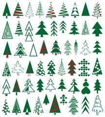 Icons conifer