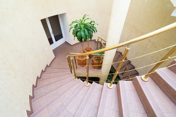 House interior, staircase