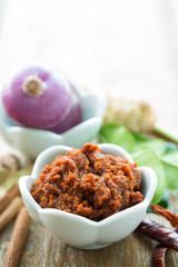 recette pour le curry massamam thai