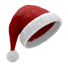 Cappello di Babbo Natale inclinato