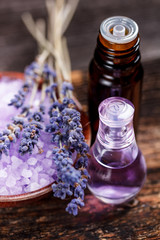 Lavender herb flower water