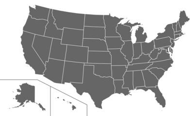 USA in Grau