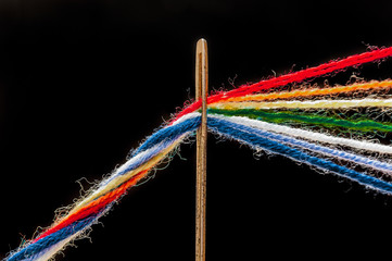 arcobaleno di fili