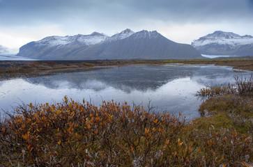 Skaftafelljokull glacier - Iceland