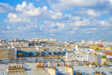 Roofs of Paris skyline