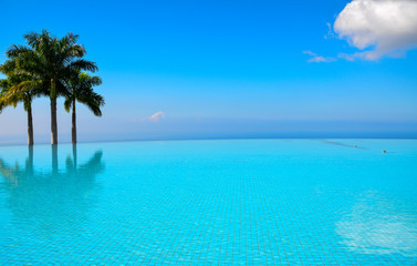 Blue Infinity Pool