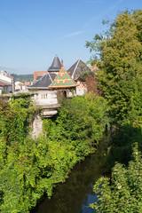 Les remparts de la ville, Charmes, Vosges, France