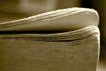 folias of old book