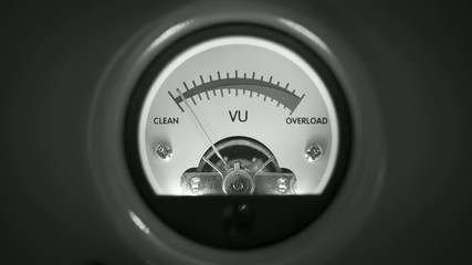 analog vu meter 09
