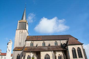Charmes, Eglise Saint-Nicolas, Vosges, France