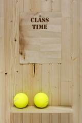 Time tennis lessons